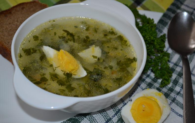 Суп з кропиви - рецепт