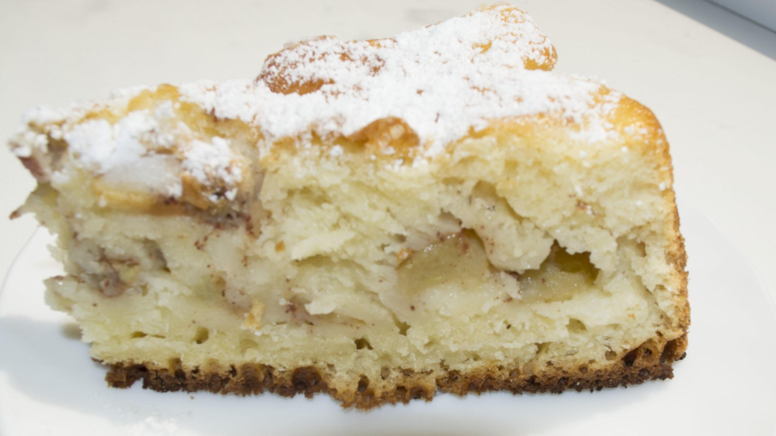 Пиріг з яблуками та корицею