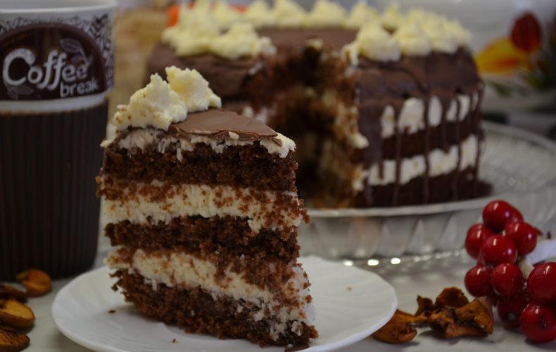 Торт БАУНТІ - райська насолода!